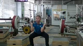 Белоусов Даниил, 11 лет, вк 50 кг На грудь в сед 25 кг Личный Рекорд!Новичок
