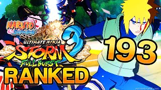 People still Ragequit? - Ep.193 Naruto Storm 3 Online (Ranked)