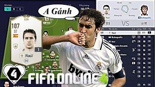"""I Love FIFA   Xây Dựng & Trải Nghiệm Đội Hình """" Real Madrid 1 NGƯỜI """" Vs Raul Gonzalez ICON"""