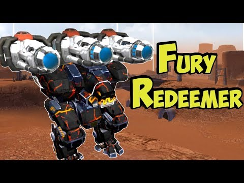 War Robots Pure Redeemer Fury Gameplay Analysis