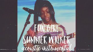 Fun Girl - Summer Walker | INSTRUMENTAL