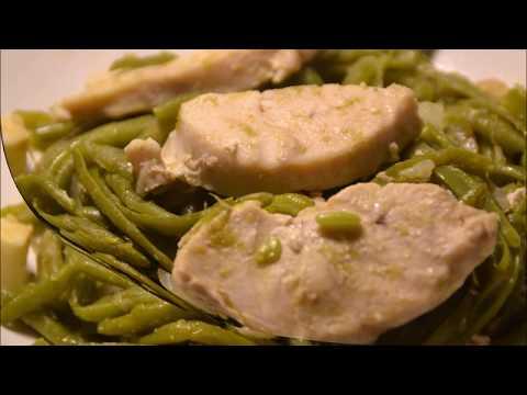 recette-cookeo-escalope-de-poulet-aux-haricots-verts