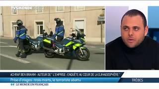 Prise d'otages à Trèbes: Trois morts, le terroriste abattu