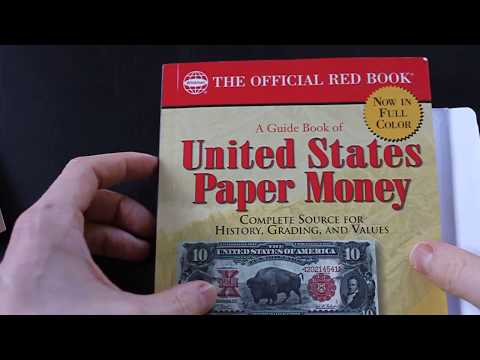 What Is In The Mystery Money Envelope? US Paper Money Book (thrift Store Find).