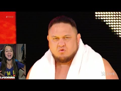 WWE Raw 10/30/17 Samoa Joe Returns to Raw