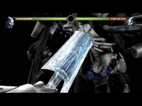 Mortal Kombat 9 Komplete Edition All Characters X Ray Moves include Kratos & Boss Exhibition