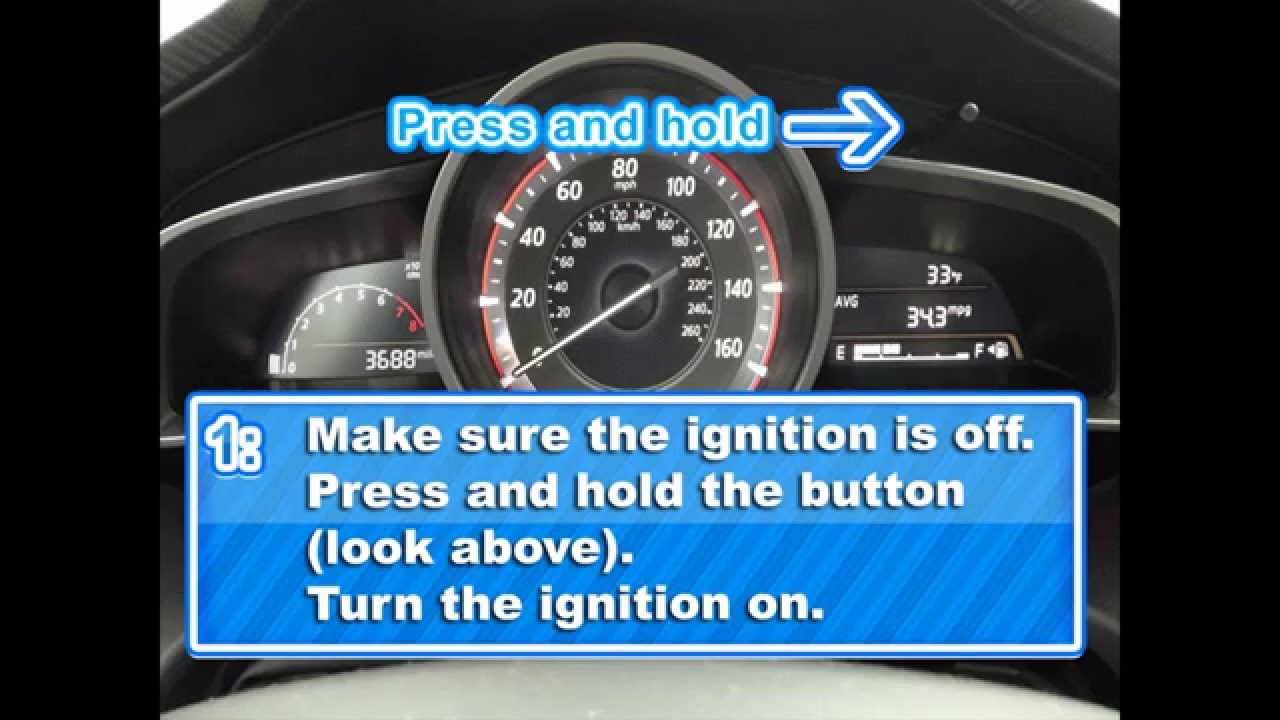 How To Reset The Service Light Mazda 3