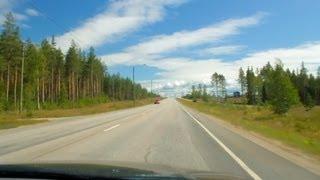 Road trip - Finland, Vaala - Kontiomäki (Hwy 22)