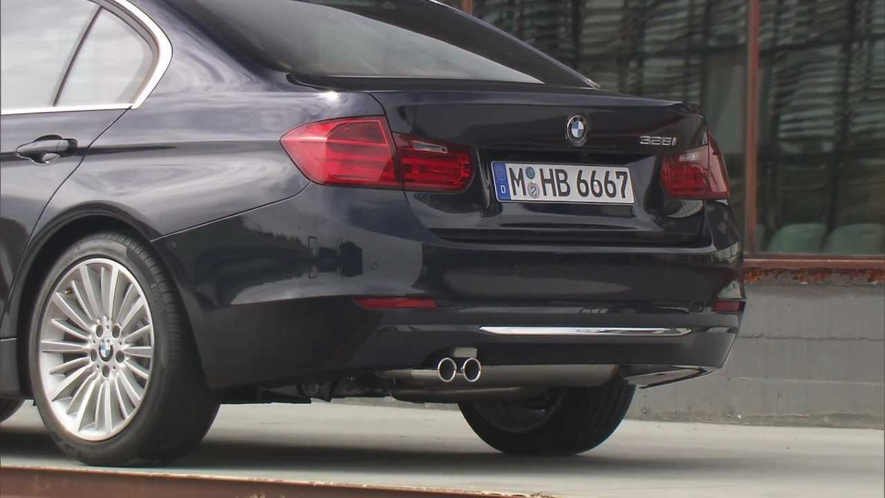 Bmw 328i luxury line f30 design exterieur youtube for Chrome line exterieur bmw