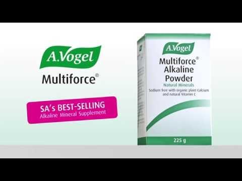 Multiforce Alkaline Powder from A Vogel TV ad