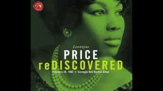 """Leontyne Price sings: """"Lord, I just can"""