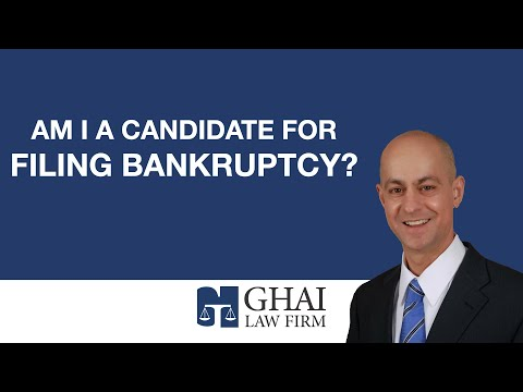 Am I A Candidate for Filing Bankruptcy