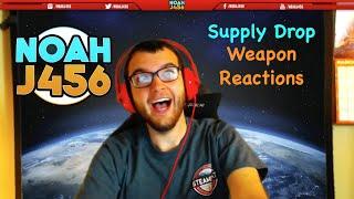 NoahJ456 Weapon Drop Reactions!