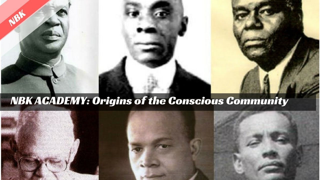 THE ORIGINS OF THE CONSCIOUS COMMUNITY - JOHN HENRIK CLARKE | HUBERT HARRISON | ARTURO SCHOMBURG