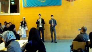 kazakh song from student