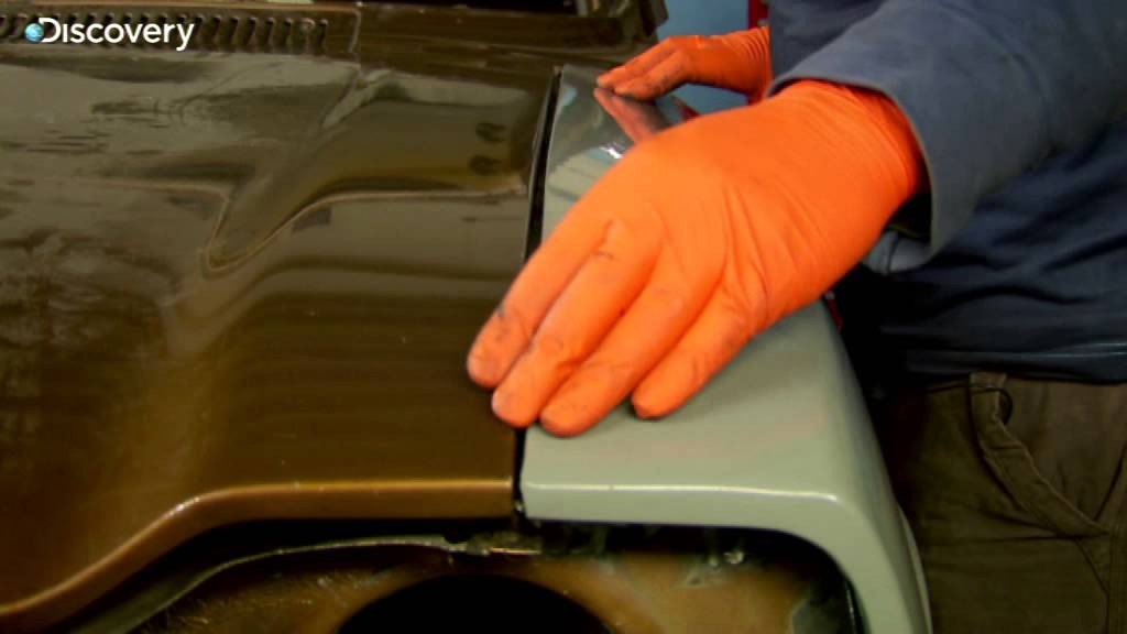 how to fit new panels  ford escort wings - wheeler dealers