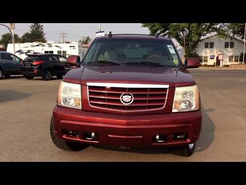 2003 Cadillac Escalade AWD with Trailer Package, DVD Player, 7-Pass. Seating, Heated Seats & MORE!