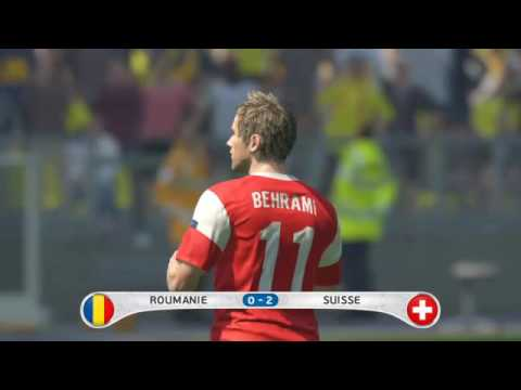 Roumanie Suisse poules euro 2016 pes 2016