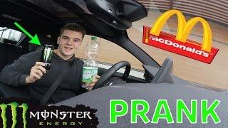 McDonalds PRANK MIT PFAND VON MONSTER ENERGY BEZAHLEN !