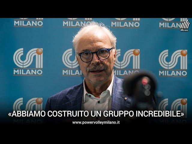 Superlega, l'intervista post Milano - Ravenna del presidente Lucio Fusaro