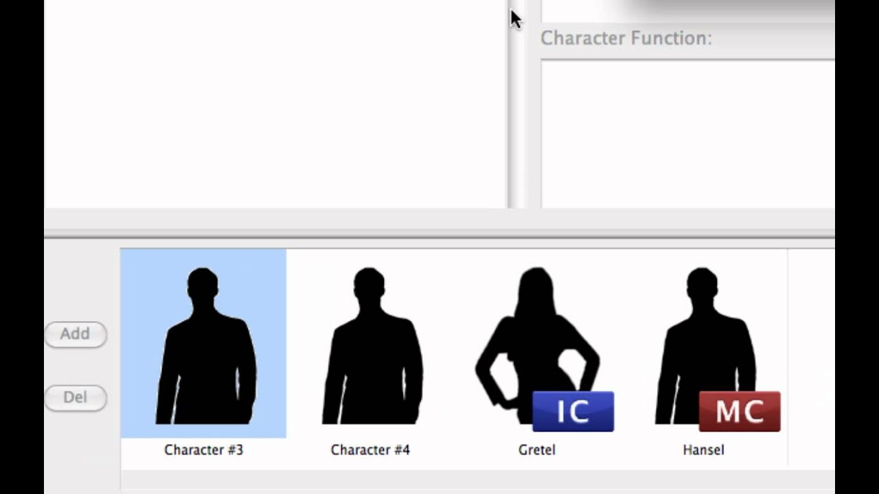 the character info window in dramatica story expert mp4 youtube