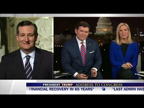 Ted Cruz reacts to Trump