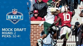2016 Round 2 Mock Draft by Bucky Brooks | NFL Free HD Video