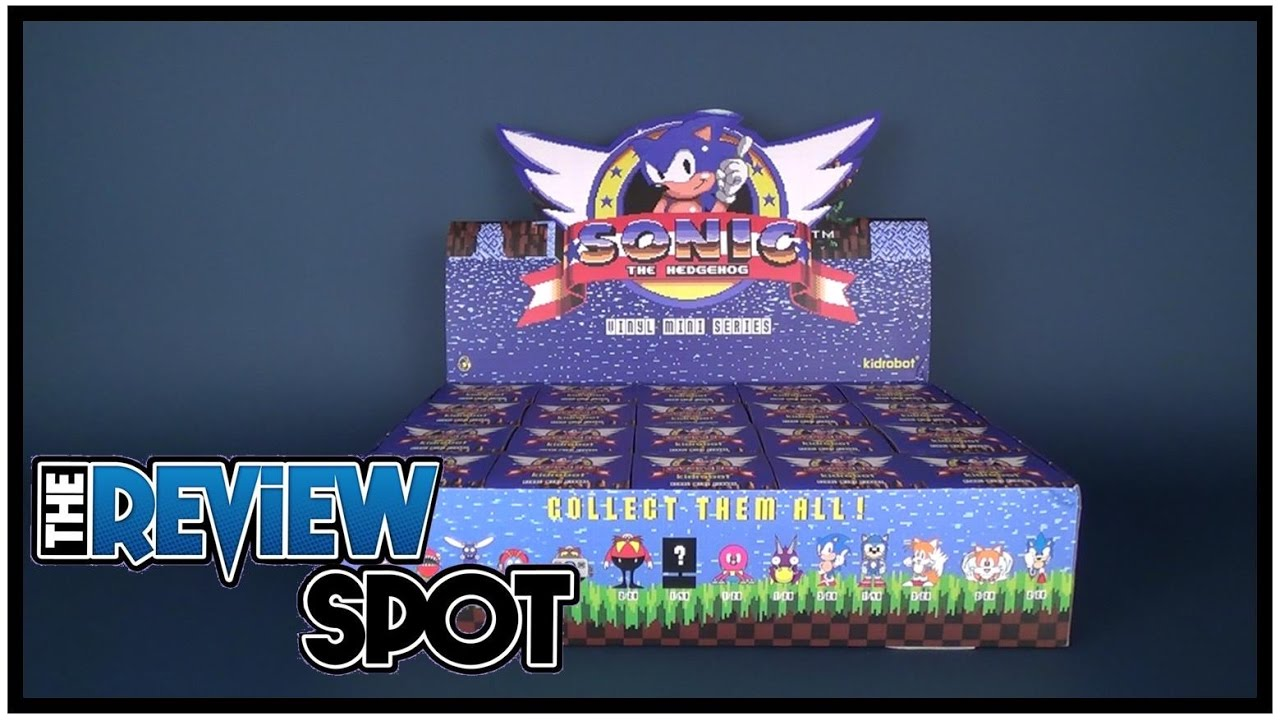 Collectible Spot Kidrobot Sonic The Hedgehog Vinyl Series Case Opening Youtube