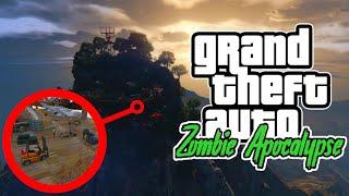 GTA V Zombie Apocalypse | [S1] ODC 44 | ATAK NA GÓRSKĄ TWIERDZĘ MERRYWEATHER!