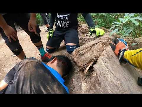 Bukit Timah Bicycle Ride - Trek Fuel EX 5 2021, Singapore (Crash at double drop !)