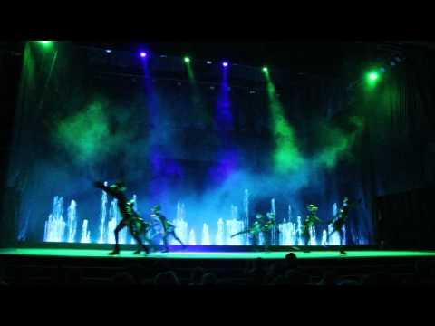 Цирк танцующих фонтанов Аквамарин. Шоу Астролябия