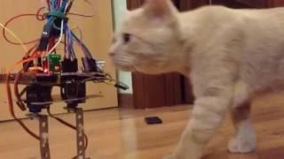 ШАГАЮЩИЙ РОБОТ/Walking robot/Arduino #1