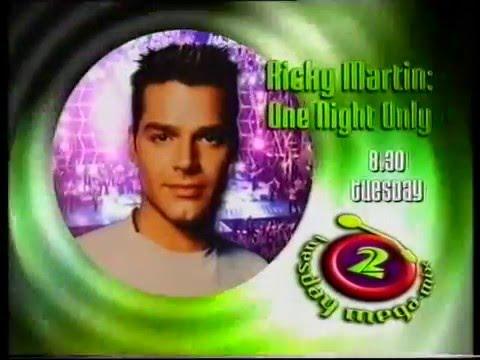 RICKY MARTIN ONE NIGHT ONLY TV PROMO 1999