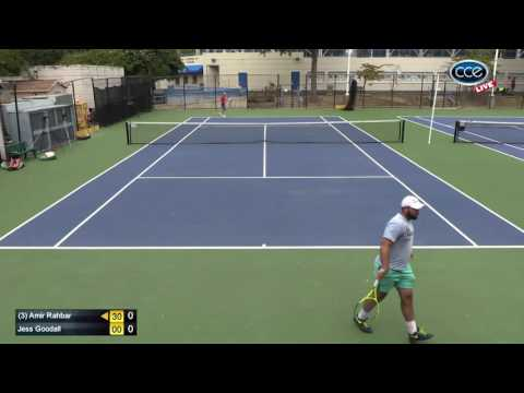 Capital Tennis Classic XXIV - Semi Finals Open Div (3) Amir Rahbar vs Jess Goodall