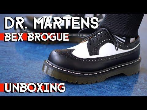 BEST AUTUMN SHOE ! Dr. MARTENS BEX BROGUE UNBOXING