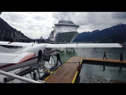 5 Glacier Seaplane Excursion. Juneau, Alaska.