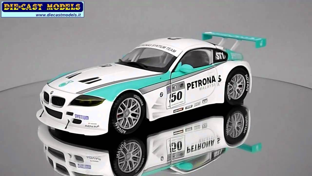 Bmw Z4 M Coupe Racing Petronas 1 24 Youtube