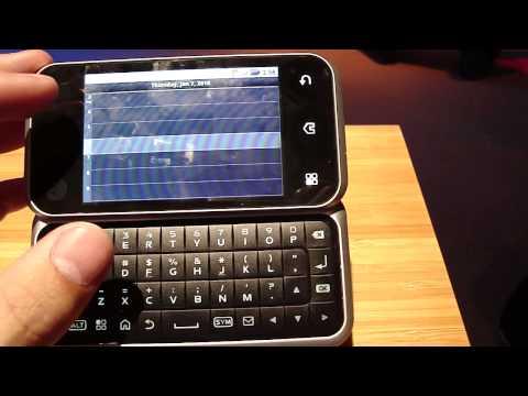 Motorola Backflip en el CES 2010