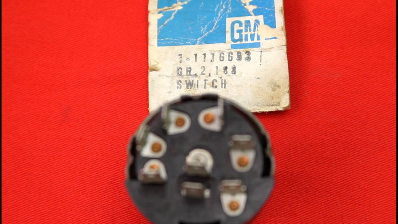 1968 gto nos ignition switch youtube. Black Bedroom Furniture Sets. Home Design Ideas