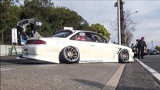 【搬出動画③】 wekfest japan2017 車高短 シャコタン Lowered exhaust Low car