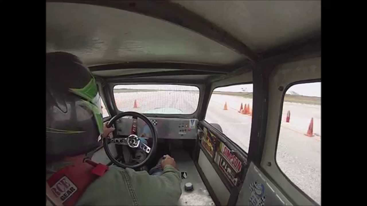 Converted Dwarf Car From Circle Track To Autocross Youtube