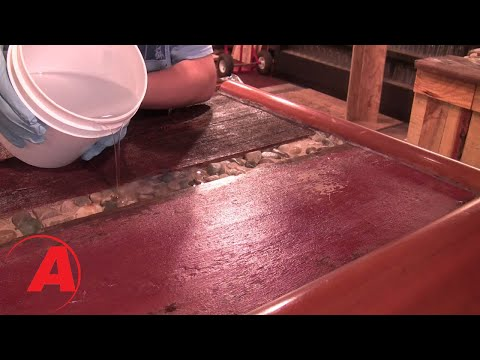 How to Apply Liquid Glass Epoxy on a Bar Top with Amazing Clear Cast Resin