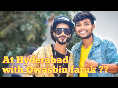 Love Hyderabad #Love_HYD How to grow subscriber in #YouTube/-with#tiktok_star #owais_bin_farooq