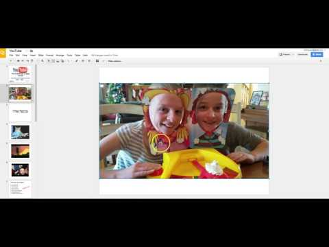 New Google Slides Feature: Insert videos from Google Drive!