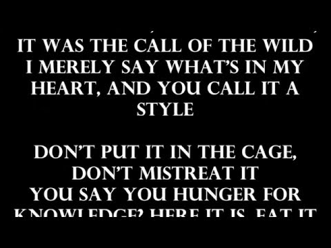 DMX - Let Me Fly (Lyrics on screen)
