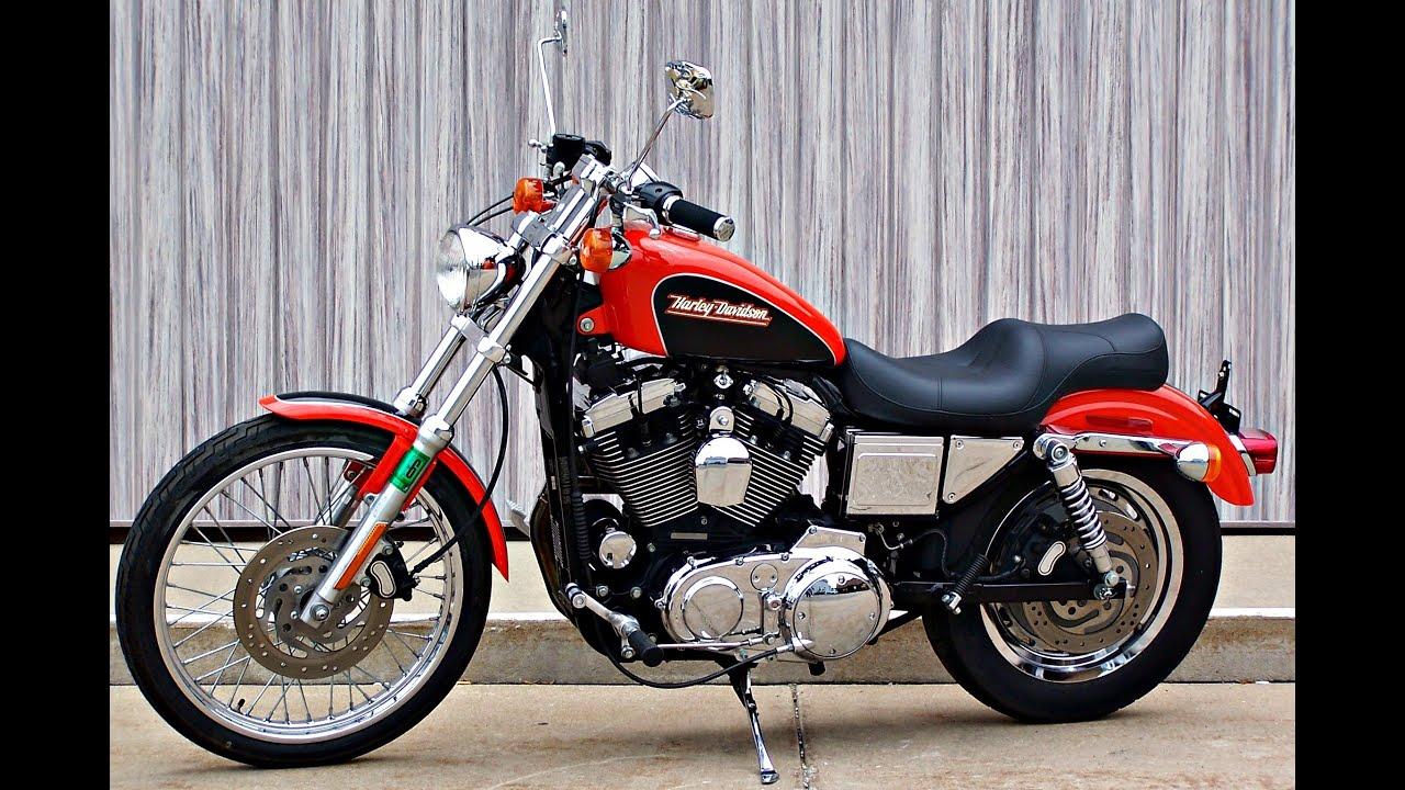SOLD! 2001 Harley Davidson 1200 Sportster Custom XL1200C