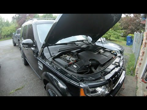 Replacing Alternator/Generator on Land rover discovery LR4 v6, v8 DIY