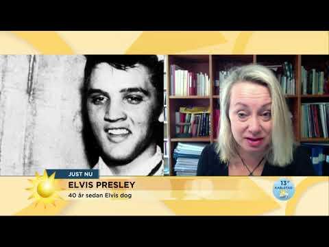 Elvistolkaren Louise Hoffsten: Det här är min favoritlåt av Elvis Presley - Nyhetsmorgon (TV4)
