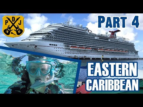 Carnival Horizon 2018 Eastern - Part 4: Grand Turk, Free Beach Day, Snorkeling Finds - ParoDeeJay