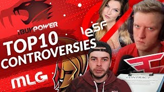 Top 10 Controversies in Esports History